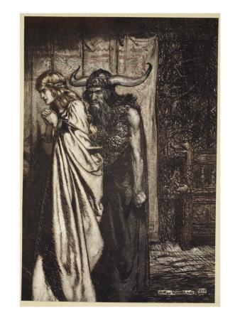 O wife betrayed I will avenge they trust deceived!', from 'Siegfried and the Twilight of Gods'
