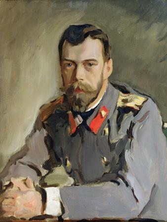 Portrait of Nicholas Ii, 1900