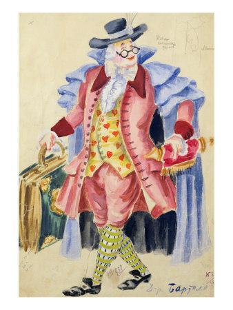 Costume Design for Mozart's 'The Marriage of Figaro', 1936