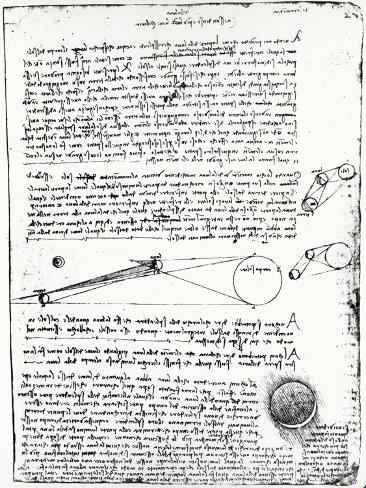 U0026 39 Astronomical Diagrams  From The Codex Leicester  1508