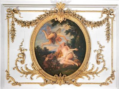Zephyr and Flora, from the Salle de Conseil