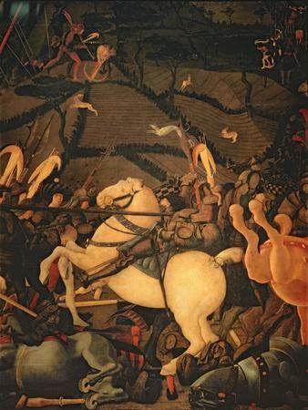 The Battle of San Romano in 1432, c.1456