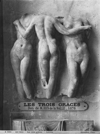 The Three Graces, Roman Copy of a Hellenistic Greek Original of 2nd Century Bc