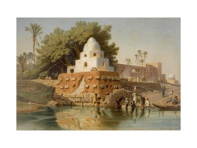 Tomb of Sheikh Ababda in Minya, Middle Egypt, 1871