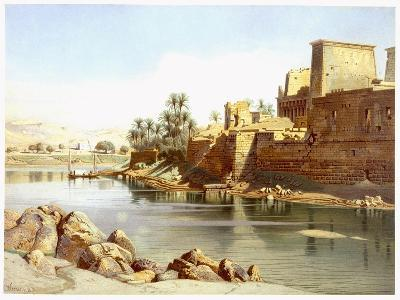 Temple of Isis at Philae, 1870