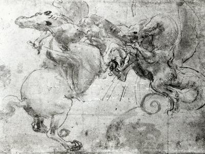 Battle between a Rider and a Dragon, c.1482