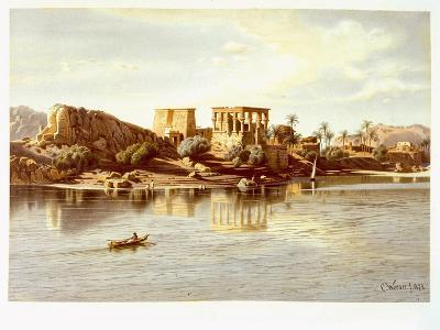 View of the Island Philae, 1874