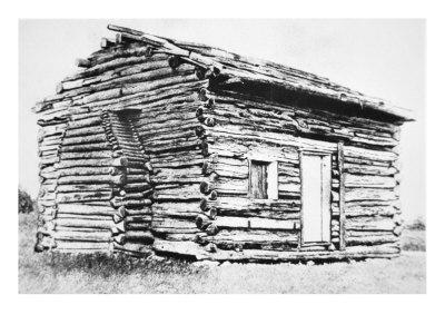 The Log Cabin in which Abraham Lincoln was Born
