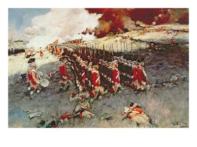 Battle of Bunker Hill, 17 June 1775