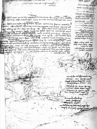 Page from Da Vinci's Notebook