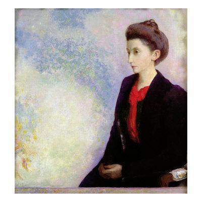 Portrait of Baroness Robert de Domecy, 1900