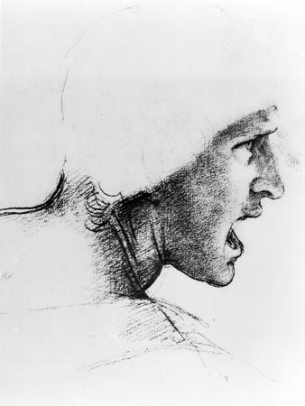 Study of the Head of a Soldier, 1503-4