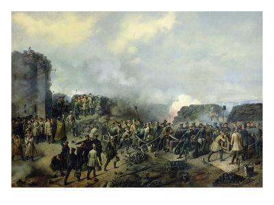The French-Russian Battle at Malakhov Kurgan in 1855, 1856