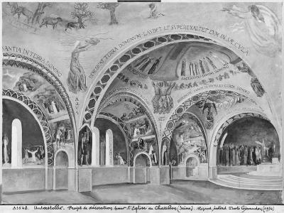 Set Design for the Church of Chatillon