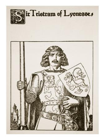 Sir Tristram of Lyonesse, Illustration from 'The Story of the Champions of the Round Table'