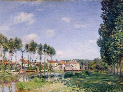 Banks of the Loing, Moret, 1892
