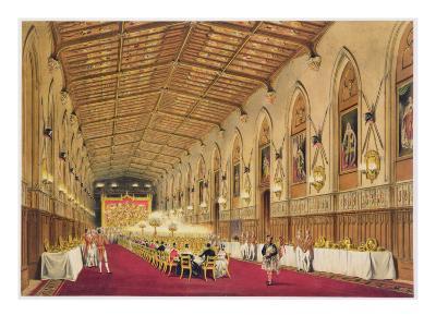 St George's Hall, Windsor Castle, 1838