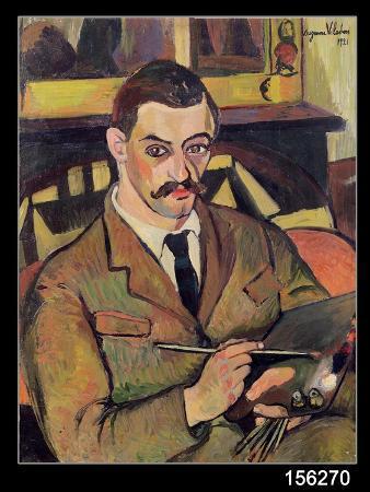 Portrait of Maurice Utrillo