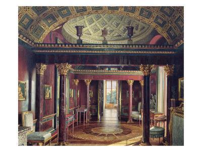 The Agate Room in Catherine Palace in Tsarskoye Selo, 1859