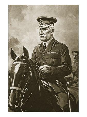 General Sir Horace Lockwood Smith-Dorrien K.C.B, 1914-19