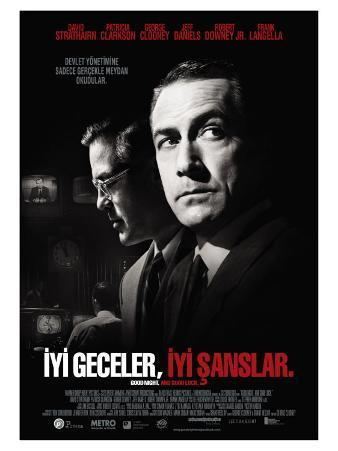 Good Night and Good Luck, Turkish Movie Poster, 2005