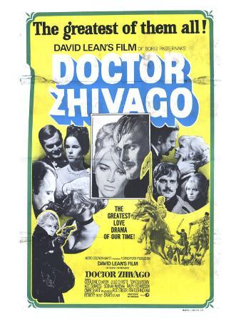 Doctor Zhivago, Australian Movie Poster, 1965