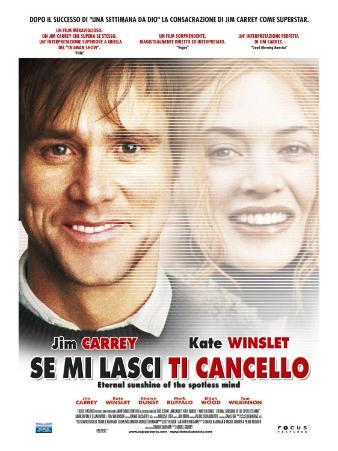 Eternal Sunshine of the Spotless Mind, Italian Movie Poster, 2004