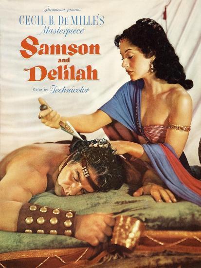 Samson Delilah 1949 Prints At AllPosters
