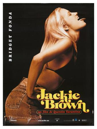 Jackie Brown, French Movie Poster, 1997