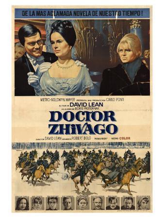 Doctor Zhivago, Argentine Movie Poster, 1965