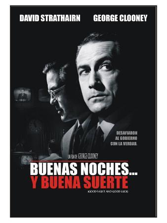 Good Night and Good Luck, Argentine Movie Poster, 2005
