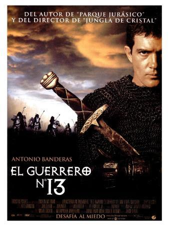 The 13th Warrior, Spanish Movie Poster, 1998