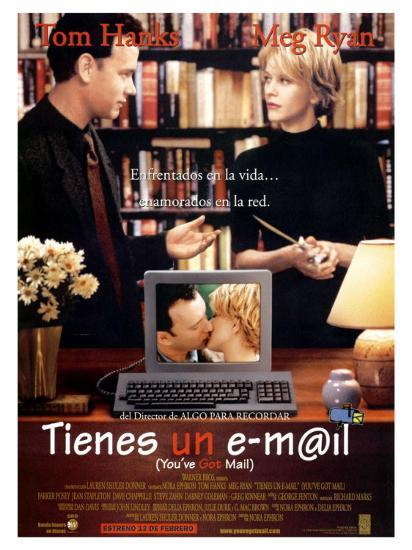 You Ve Got Mail Spanish Movie Poster 1998 Premium Giclee Print Allposters Com