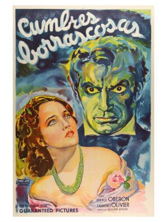 Wuthering Heights, Argentine Movie Poster, 1939