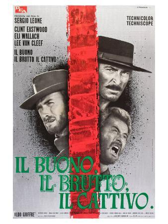 The Good, The Bad and The Ugly, Italian Movie Poster, 1966