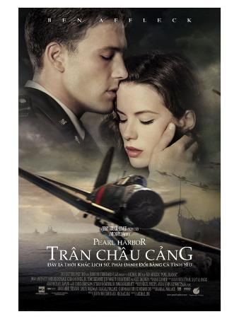 Pearl Harbor, Vietnamese Movie Poster, 2001
