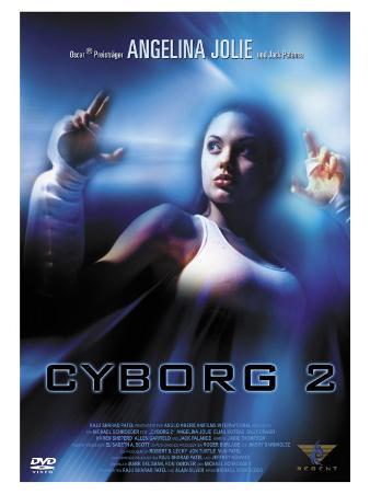 Cyborg 2, German Movie Poster, 1993