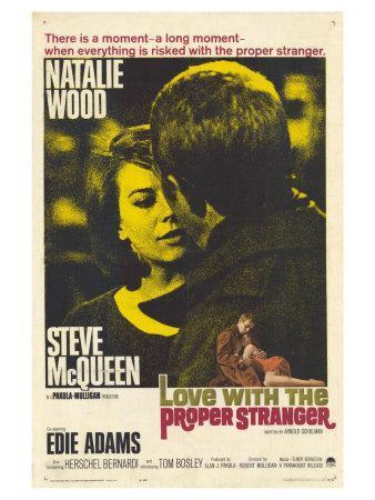 Love With the Proper Stranger, 1964