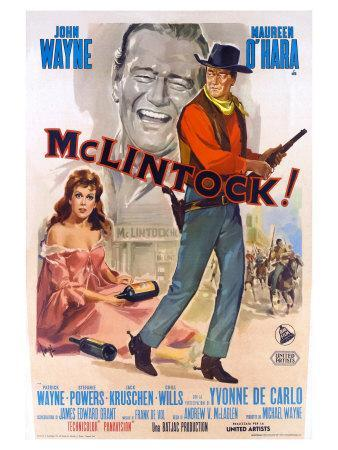 McLintock, Italian Movie Poster, 1963