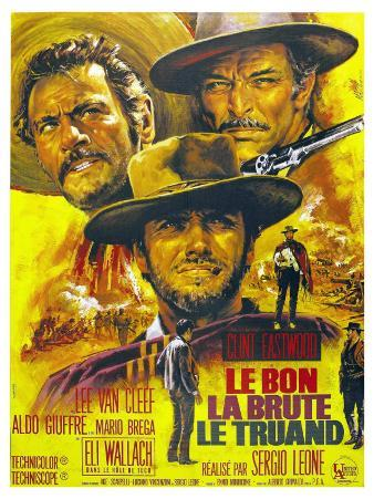 The Good, The Bad and The Ugly, French Movie Poster, 1966