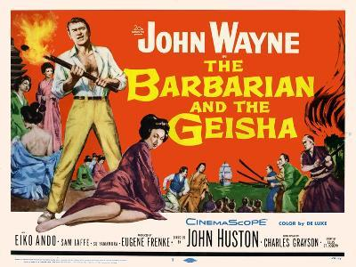 The Barbarian and the Geisha, 1958