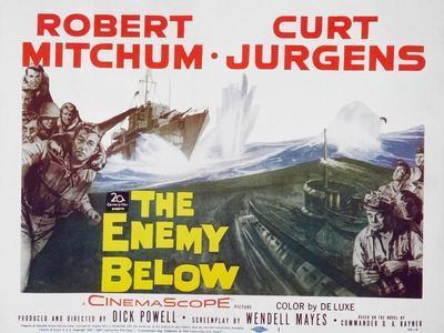 The Enemy Below, 1961