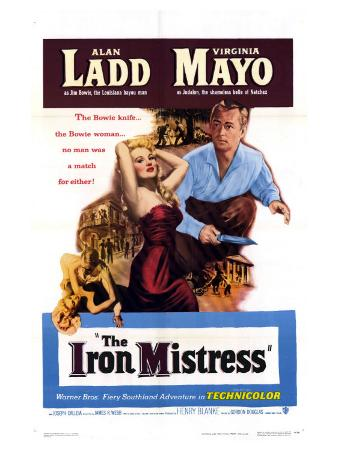 The Iron Mistress, 1952