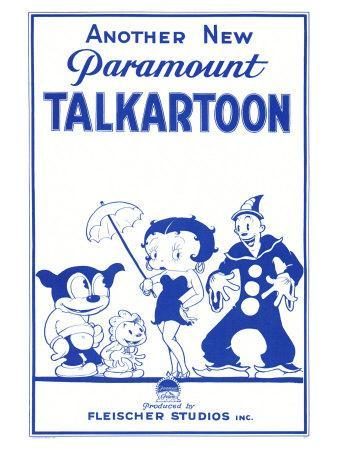 Talkartoon, 1931
