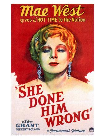 She Done Him Wrong, 1933
