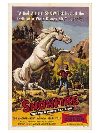Snowfire, 1958