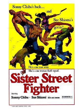 Sister Streetfighter, 1975
