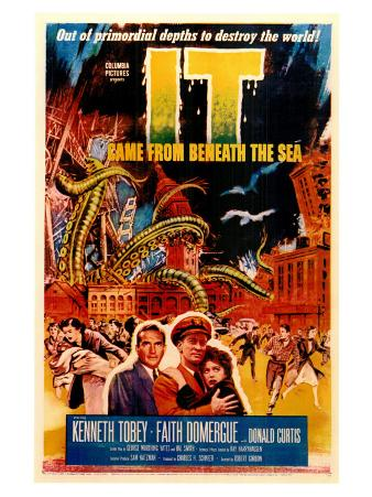 It Came From Beneath the Sea, 1955