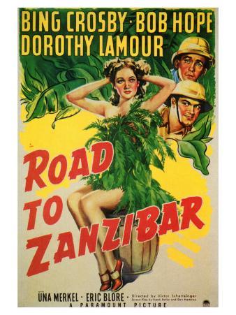 Road to Zanzibar, 1941