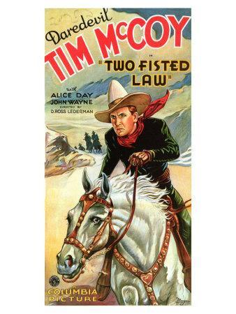 Two Fisted Law, 1932